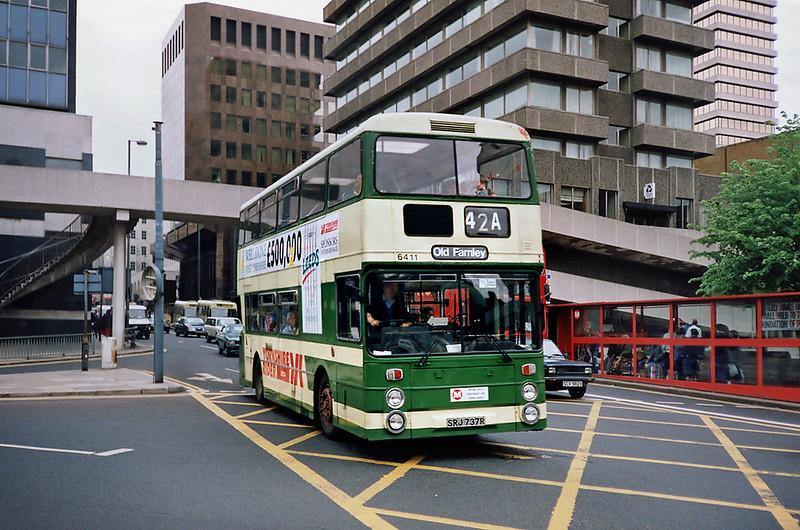 6411 SRJ737R, Leeds 10/5/1991