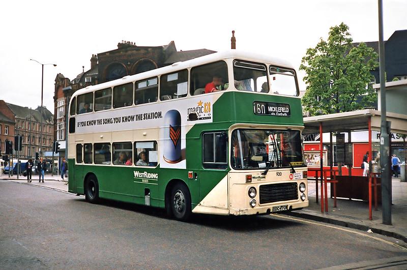 920 ODC470W, Leeds 10/5/1991