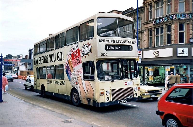 7520 UWW520X, Leeds 10/5/1991