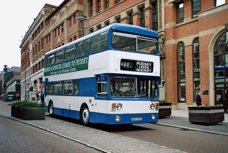 SDA784S, Leeds 10/5/1991