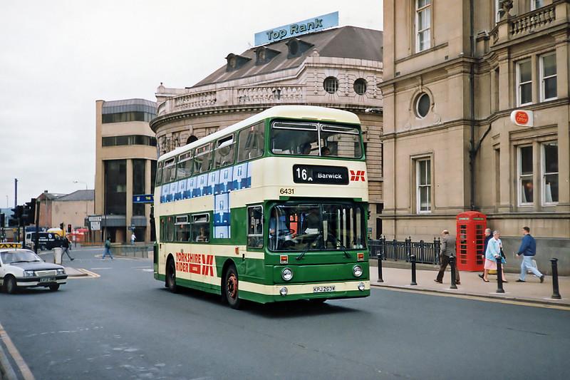6431 KPJ263W, Leeds 10/5/1991