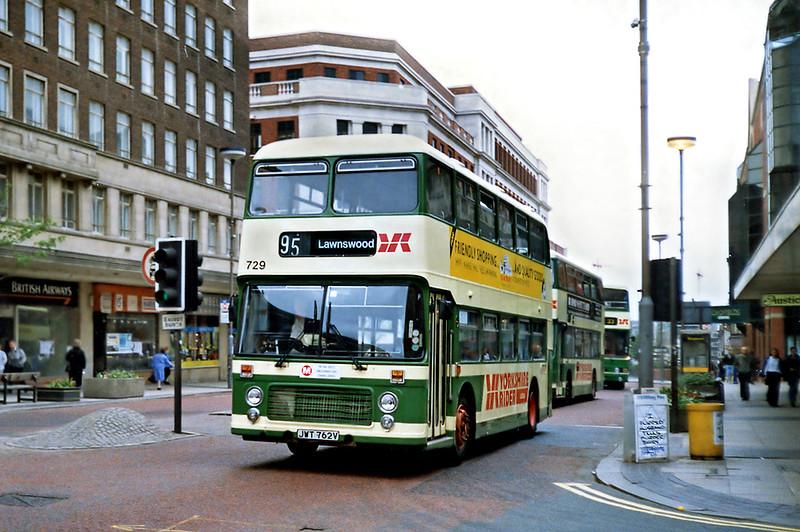 729 JWT762V, Leeds 10/5/1991