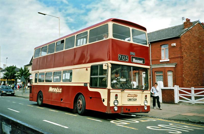 1702 JWM702P, Birkdale 12/7/1991