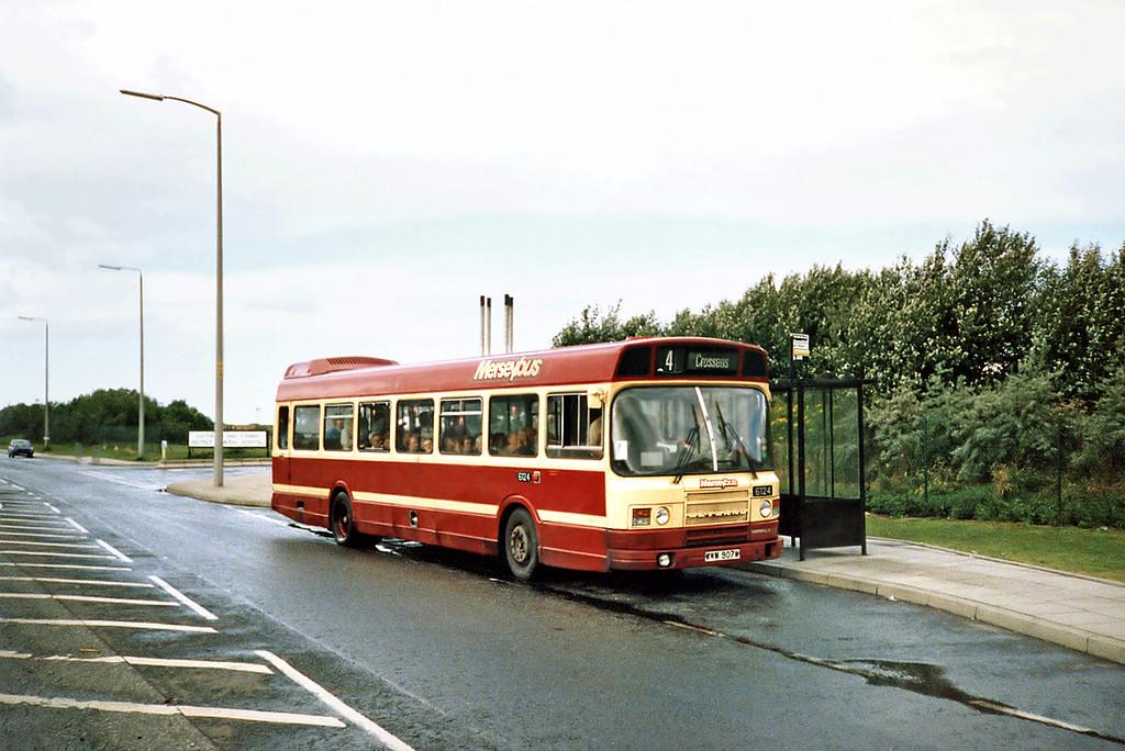 6124 WWM907W, Kew 12/7/1991