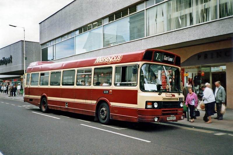 6129 VBG129V, Southport 12/7/1991