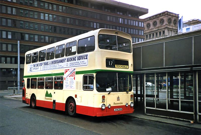 191 JKW291W, Manchester 12/9/1991