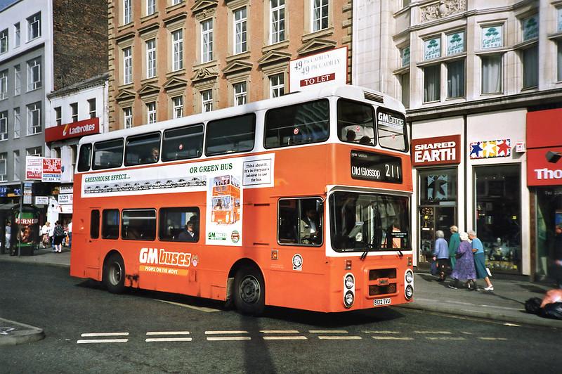 3122 B122TVU, Manchester 12/9/1991