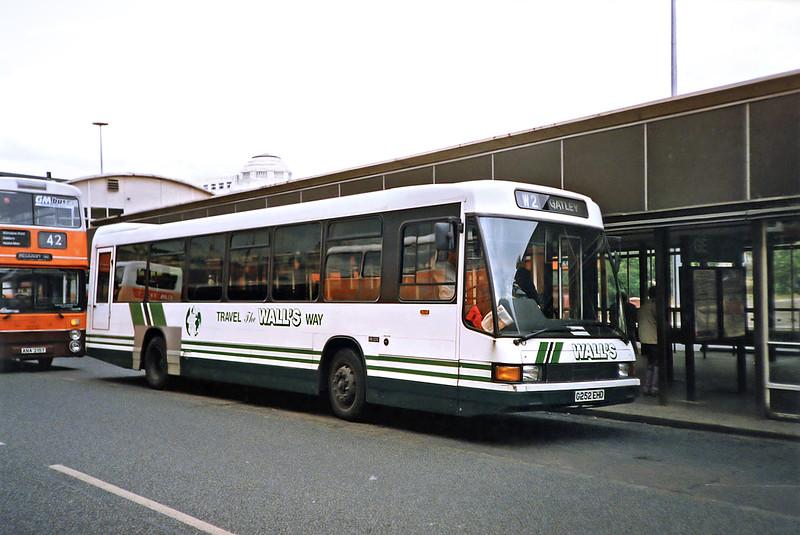 G252EHD, Manchester 12/9/1991