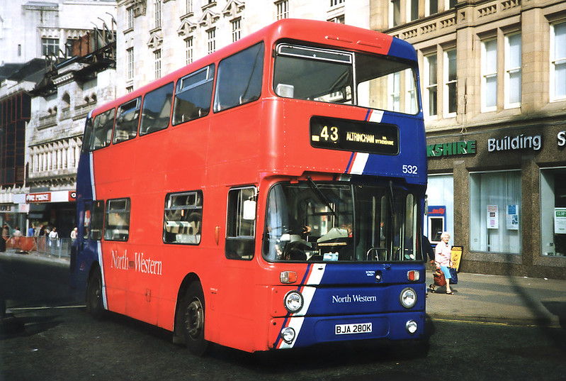 532 BJA280K, Manchester 12/9/1991