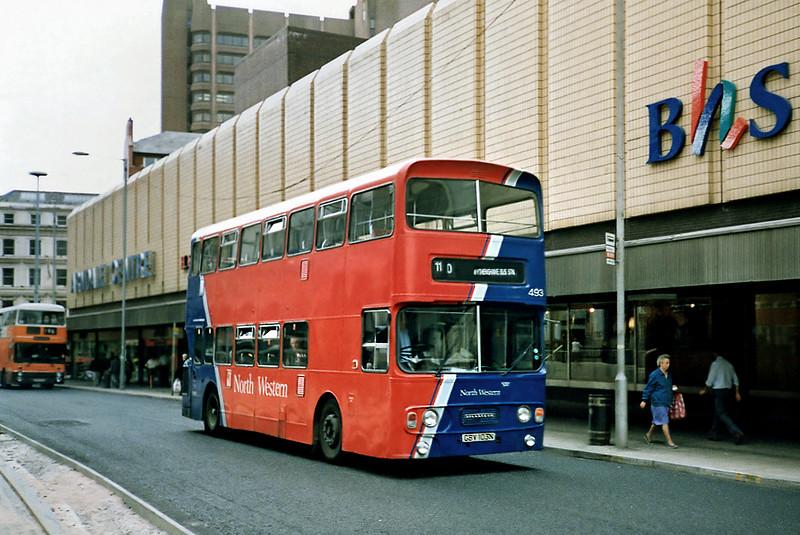 493 GBV103N, Manchester 12/9/1991