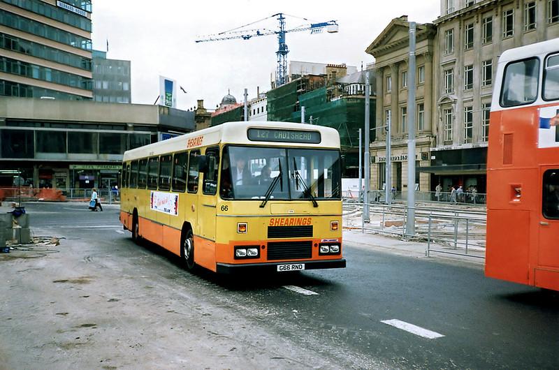 66 G66RND, Manchester 12/9/1991