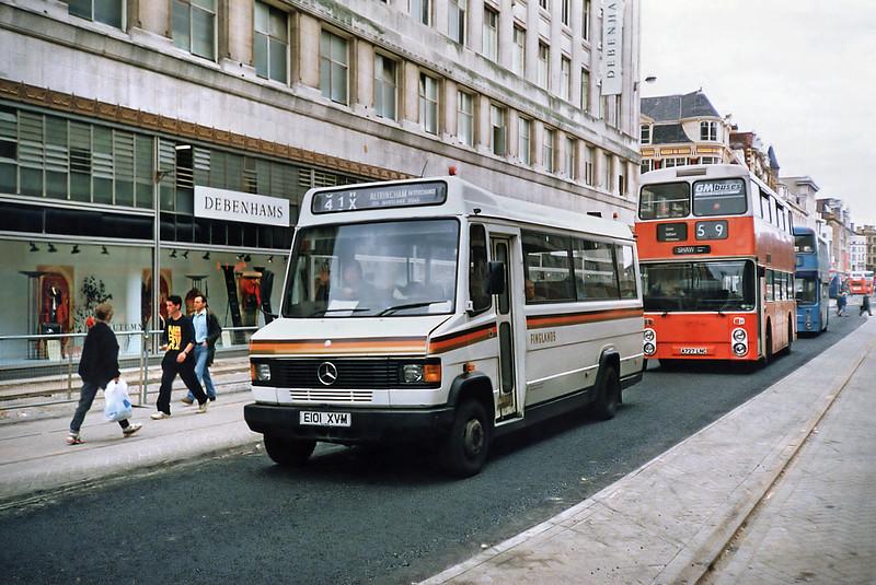 341 E101XVM, Manchester 12/9/1991