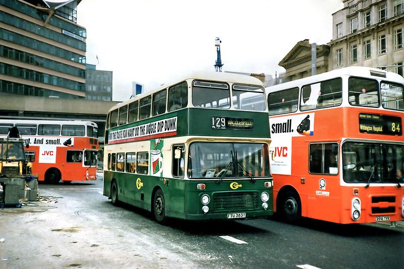 DVL383 FTU383T, Manchester 12/9/1991