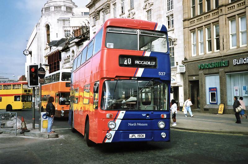 537 JPL190K, Manchester 12/9/1991