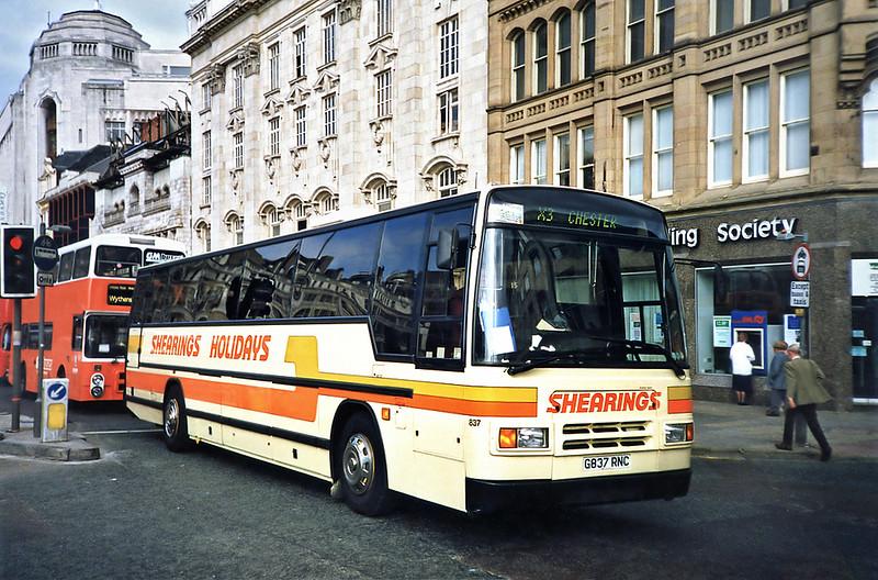 837 G837RNC, Manchester 12/9/1991