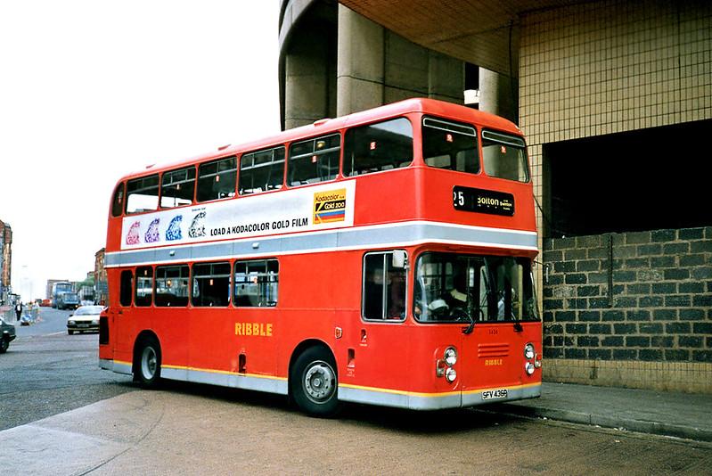 1436 SFV436P, Manchester 12/9/1991