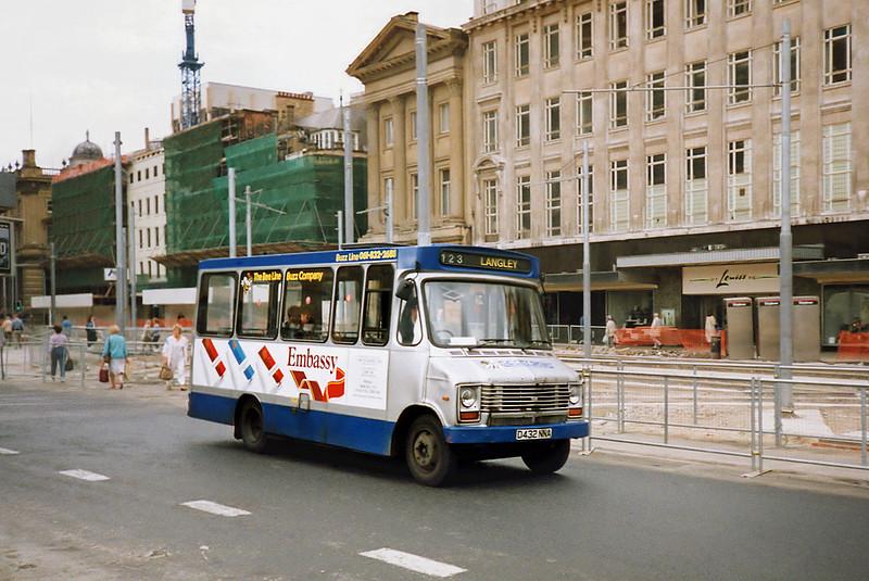 3432 D432NNA, Manchester 12/9/1991