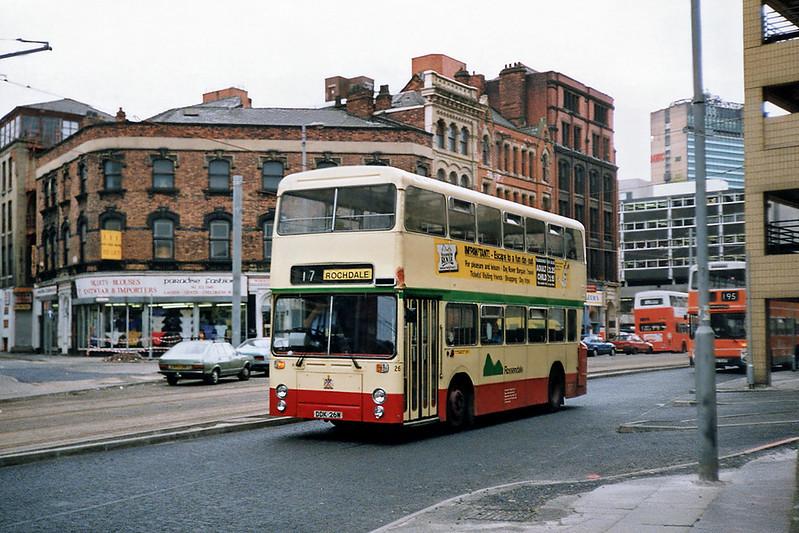 26 DDK26W, Manchester 12/9/1991