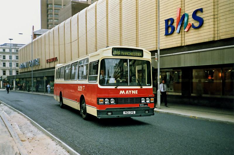 2 A101DPB, Manchester 12/9/1991