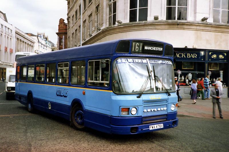 476 FWA476V, Manchester 12/9/1991