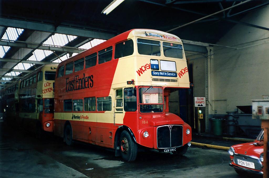 184 CUV114C, Burnley 13/3/1991