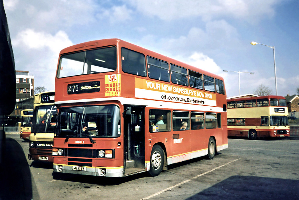 2107 JFR7W, Burnley 13/3/1991