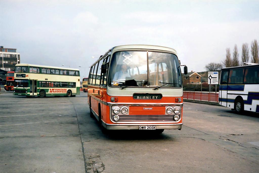 OWR266K, Burnley 13/3/1991