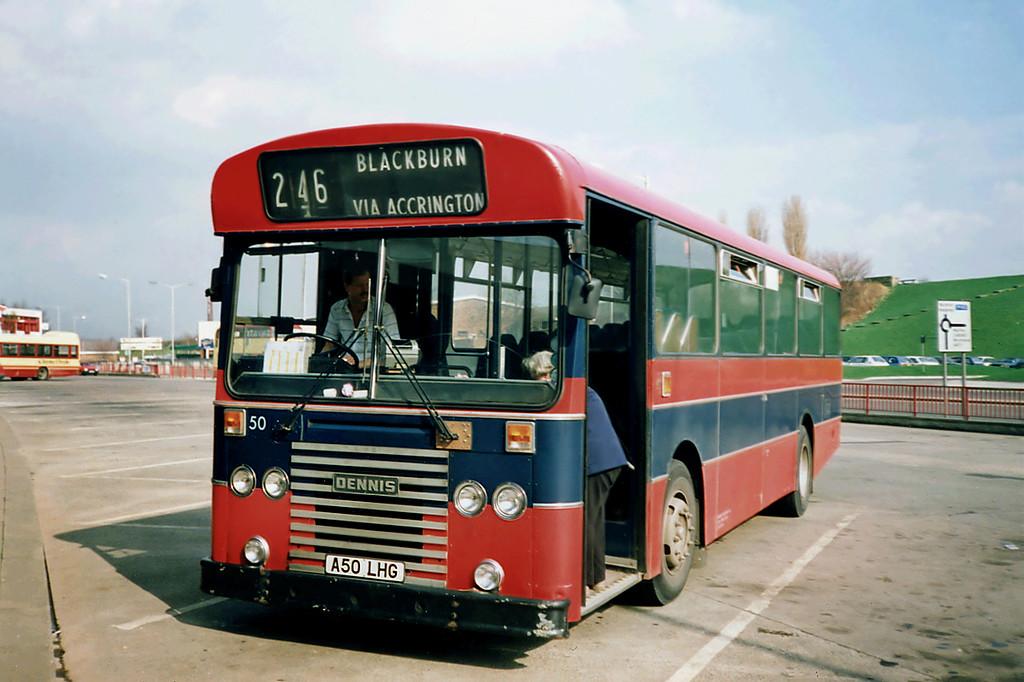 50 A50LHG, Burnley 13/3/1991