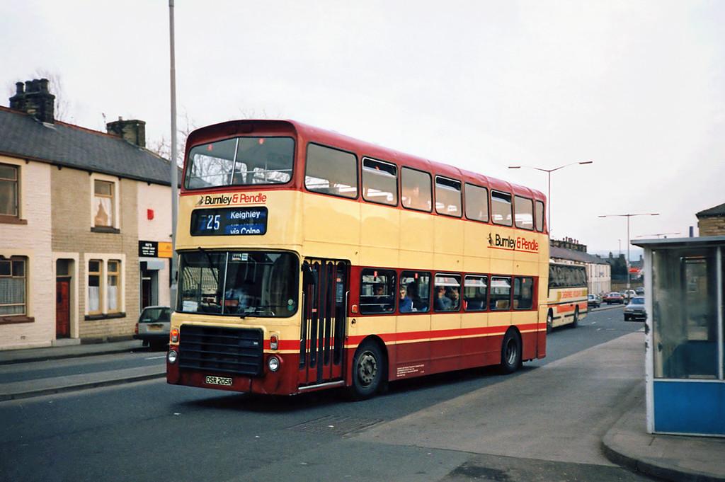 205 OSR205R, Burnley 13/3/1991