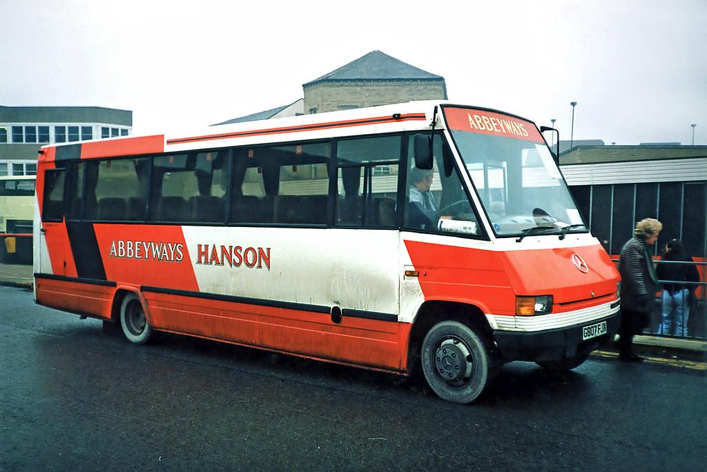 G807FJX, Huddersfield 15/1/1991