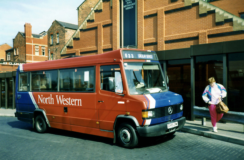 145 G145LRM, Wigan 15/4/1991
