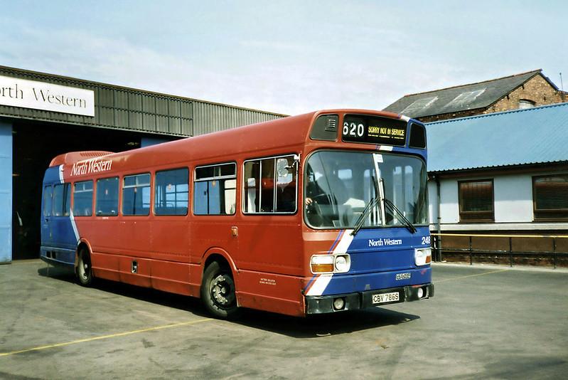 248 CBV786S, Wigan 15/4/1991