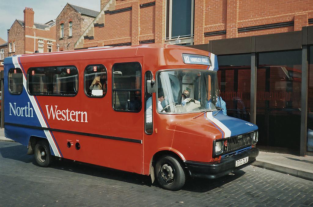 70 D70TLV, Wigan 15/4/1991