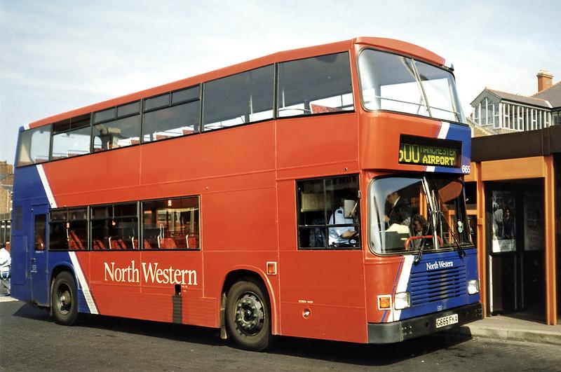 665 G665FKA, Wigan 15/4/1991