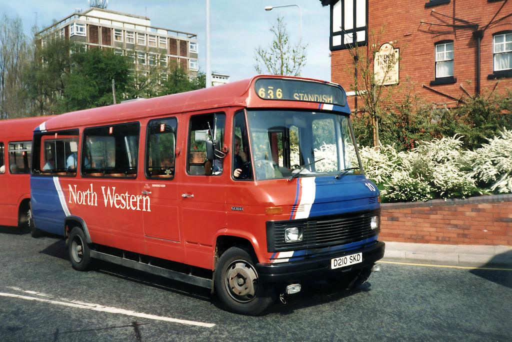 10 D210SKD, Wigan 15/4/1991