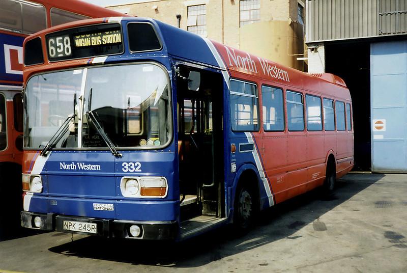 332 NPK245R, Wigan 15/4/1991