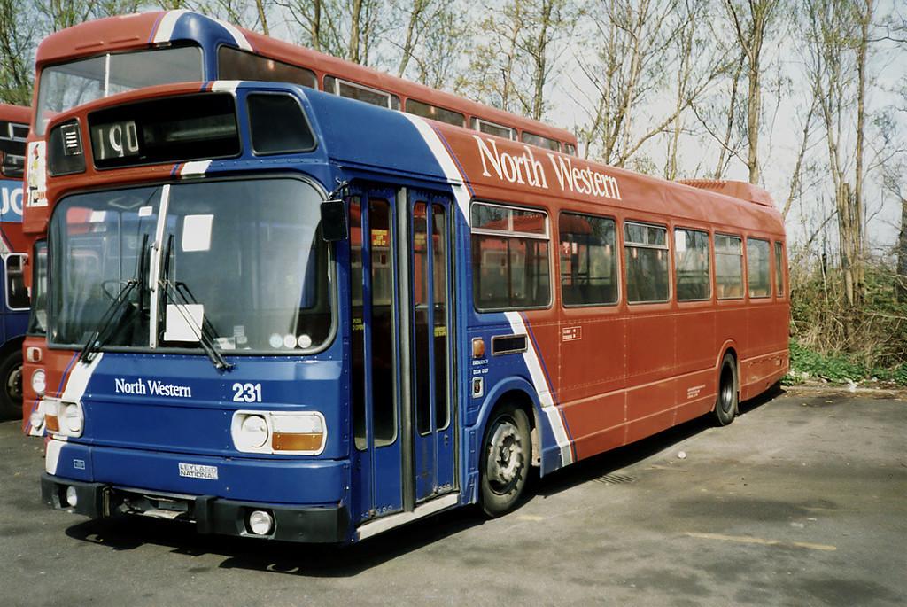 231 UHG735R, Skelmersdale 15/4/1991