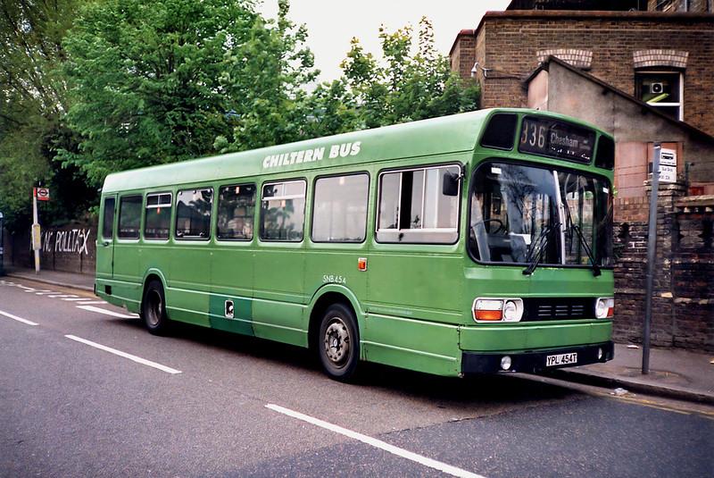 SNB454 YPL454T, Watford Junction 15/5/1991