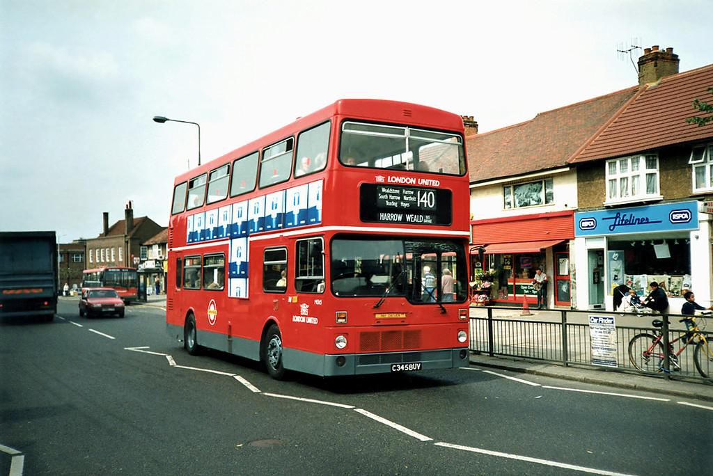 M1345 C345BUV, South Harrow 15/5/1991