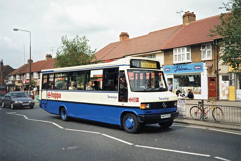 H417FGS, South Harrow 15/5/1991