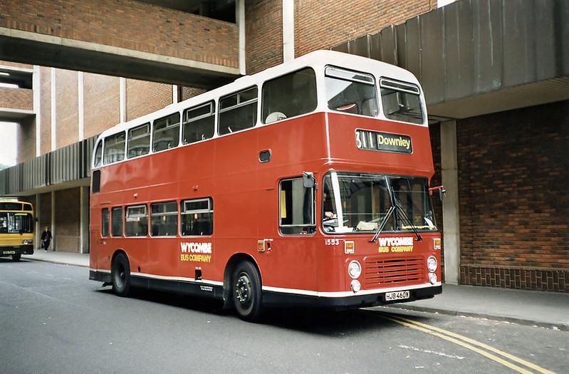 1553 HJB460W, High Wycombe 15/5/1991