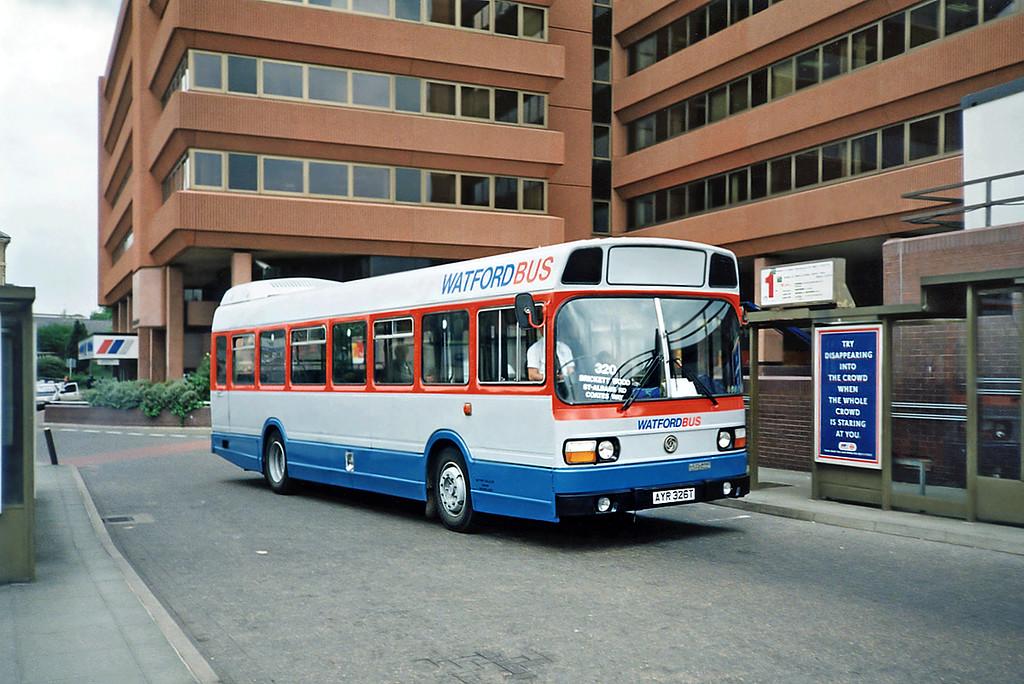 AYR326T, Watford Junction 15/5/1991