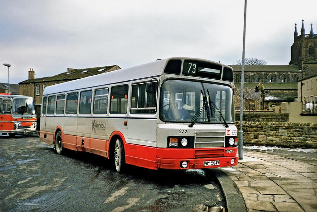 272 PWY584W, Skipton 16/2/1991