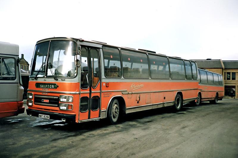 NWT839V, Skipton 16/2/1991