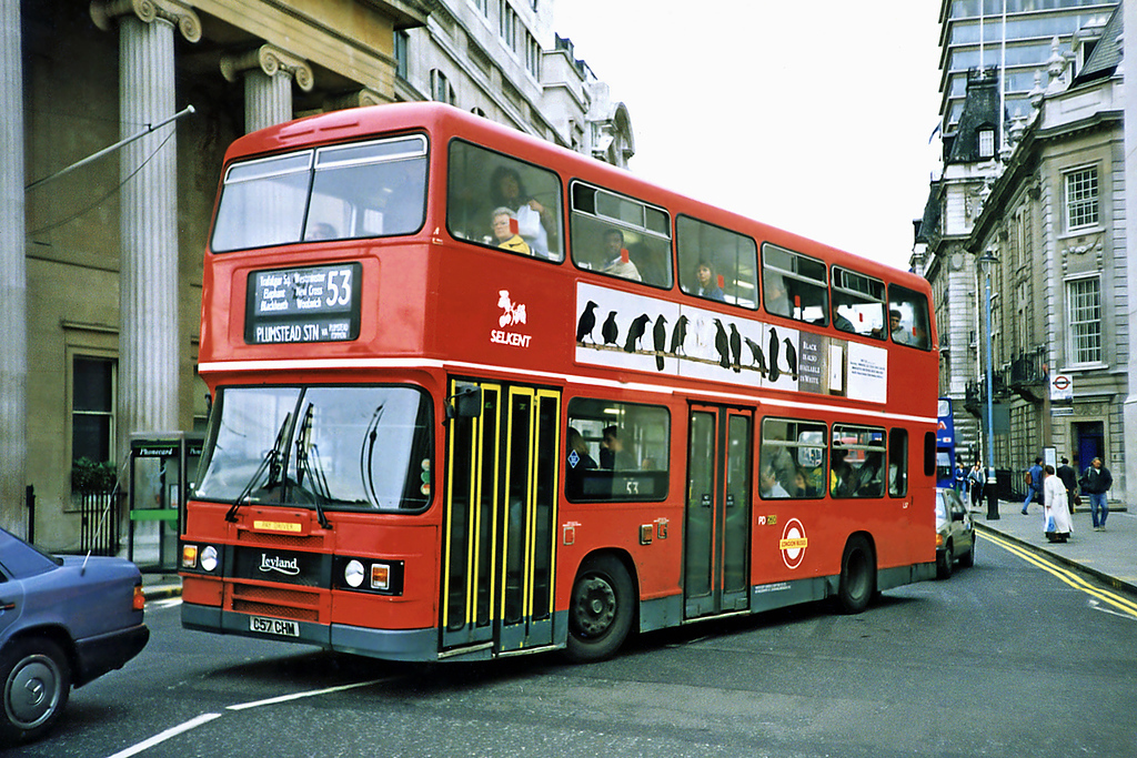 L57 C57CHM, Trafalgar Square 16/5/1991