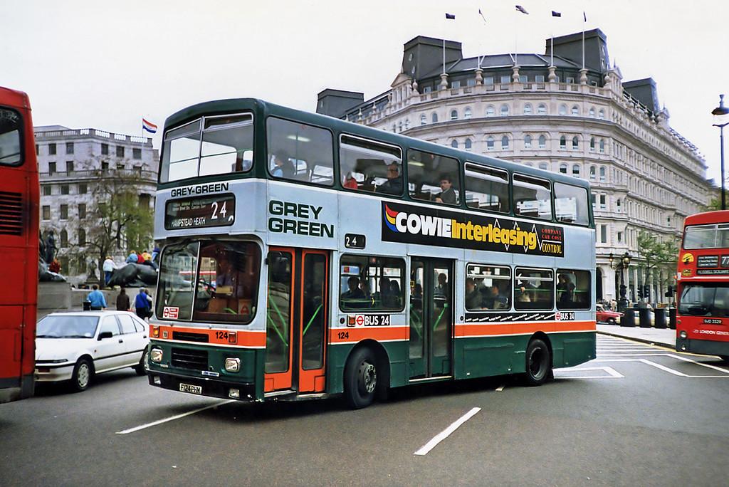 124 F124PHM, Trafalgar Square 16/5/1991