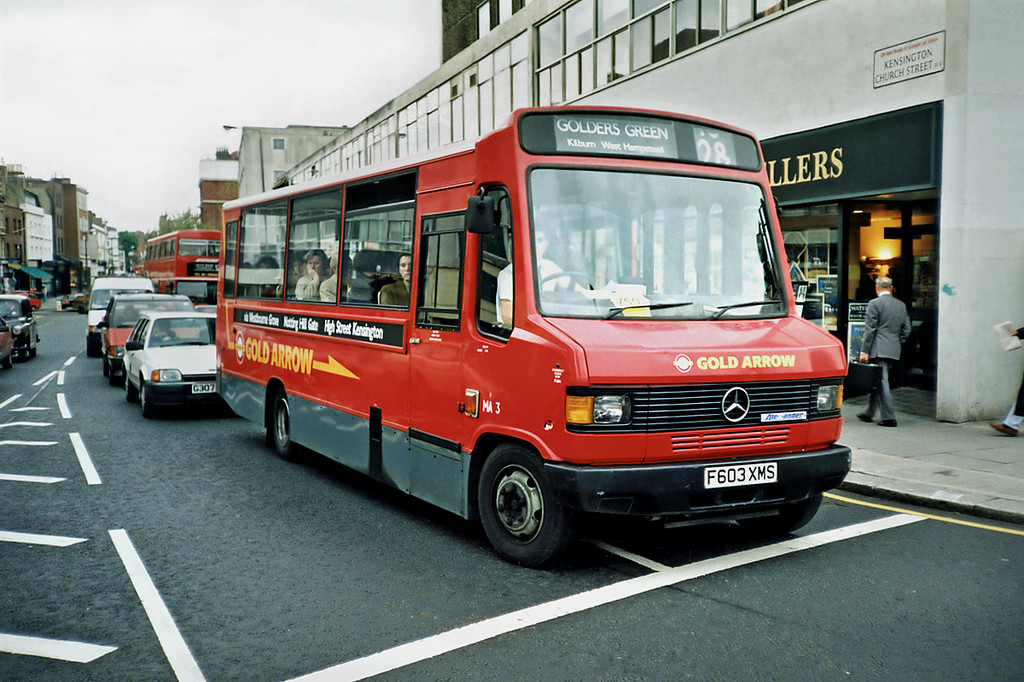 MA3 F603XMS, Notting Hill 16/5/1991