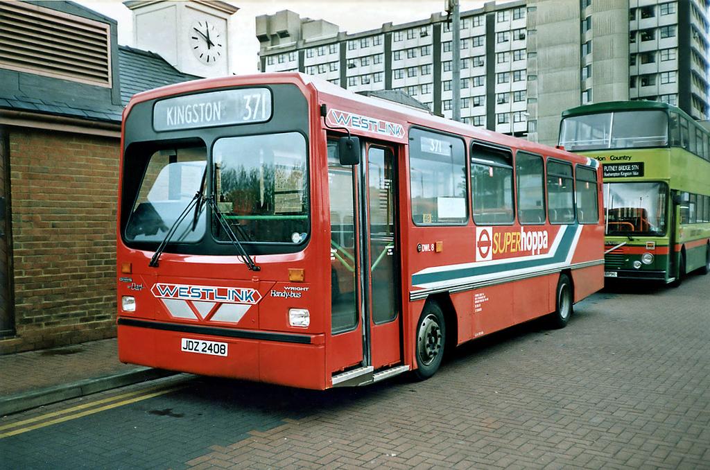 DWL8 JDZ2408, Kingston-upon-Thames 17/5/1991