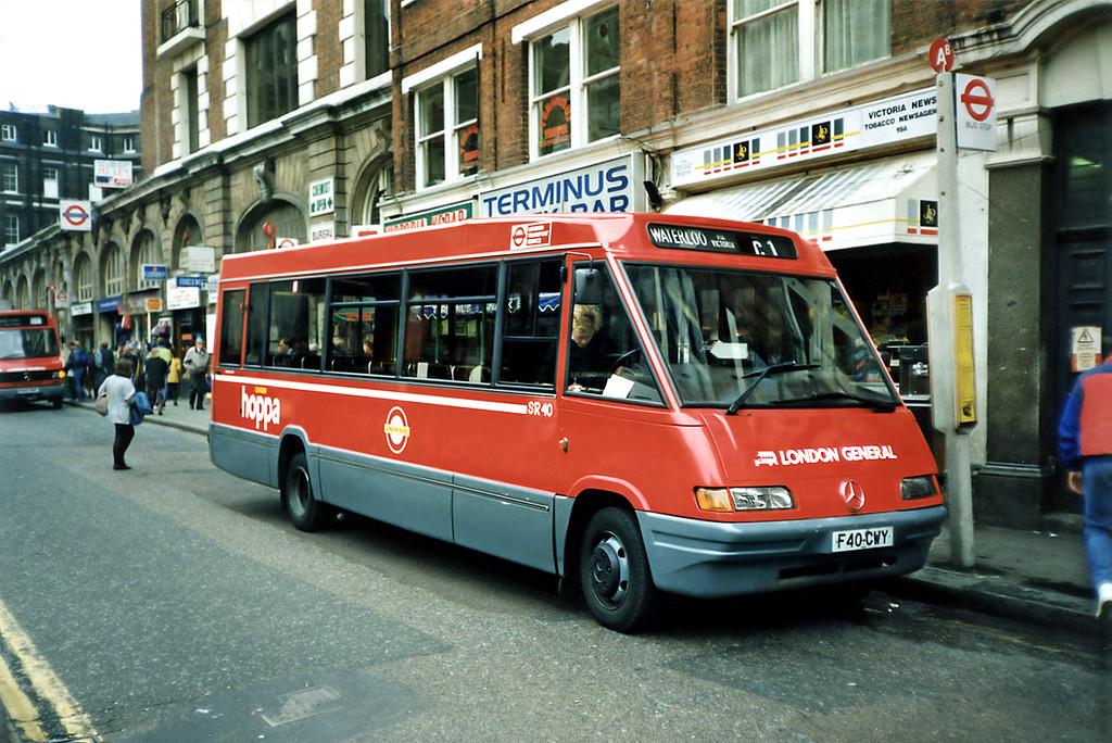 SR40 F40CWY, Victoria 17/5/1991