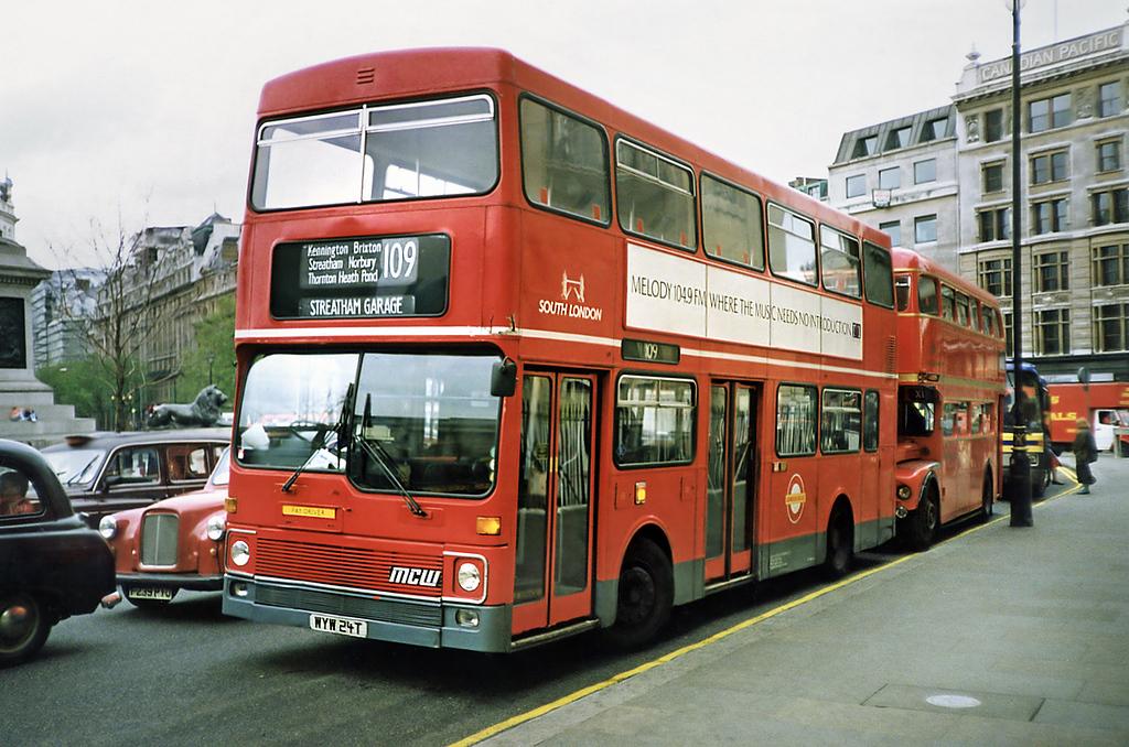 M24 WYW24T, Trafalgar Square 16/5/1991